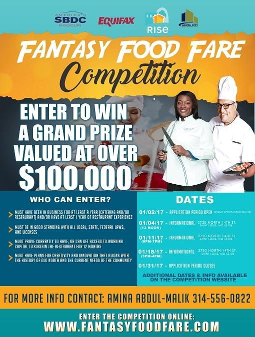 Fantasy Food Fare Competition